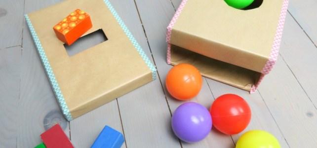 La boite de permanence de l'objet version récup' ***DIY bébé***