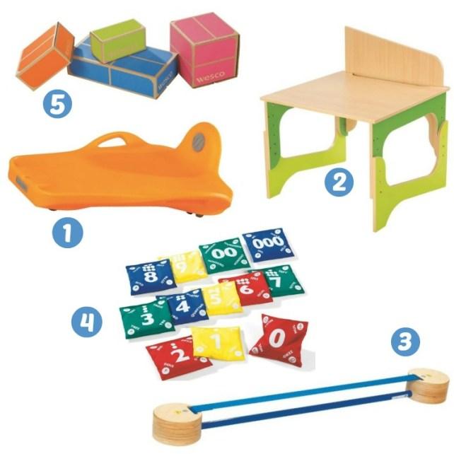 sélection jouets wesco family enfant 6-7 ans
