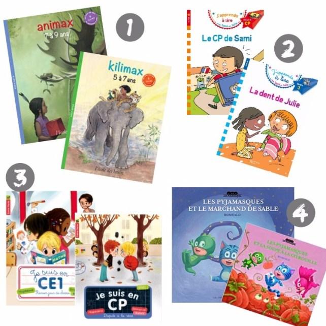 sélection livres premières lectures 7 ans idées cadeaux