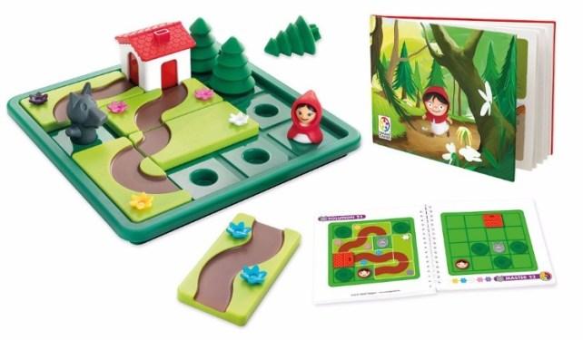 chaperon rouge jeu smart games idée cadeau 4-7 ans