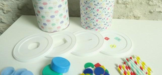 Les tirelires ou boites à forme unique ***DIY bébé**  [12-18 mois]