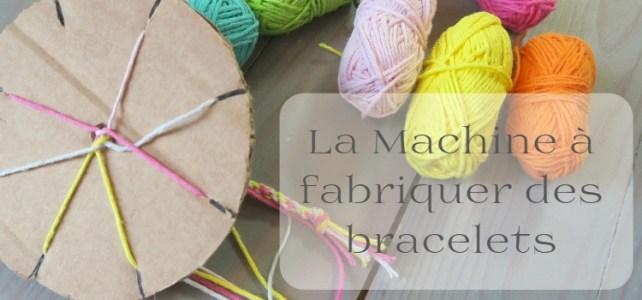 La machine à fabriquer des bracelets DIY facile pour les enfants