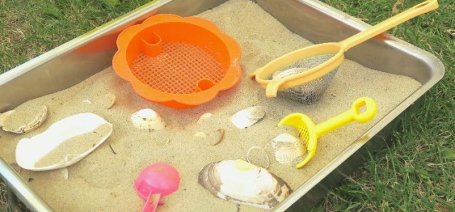 Bac sensoriel d'été [Activité d'été #2]