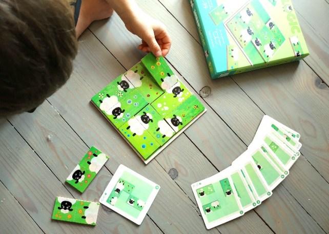 idée cadeaux 6 ans sheep logic Djeco jeu de réflexion
