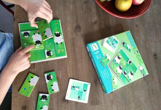 sheep logic Djeco jeu de logique casse-tête idée cadeau
