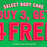 Buy 3 Get 4 Free At Bath And Body Works