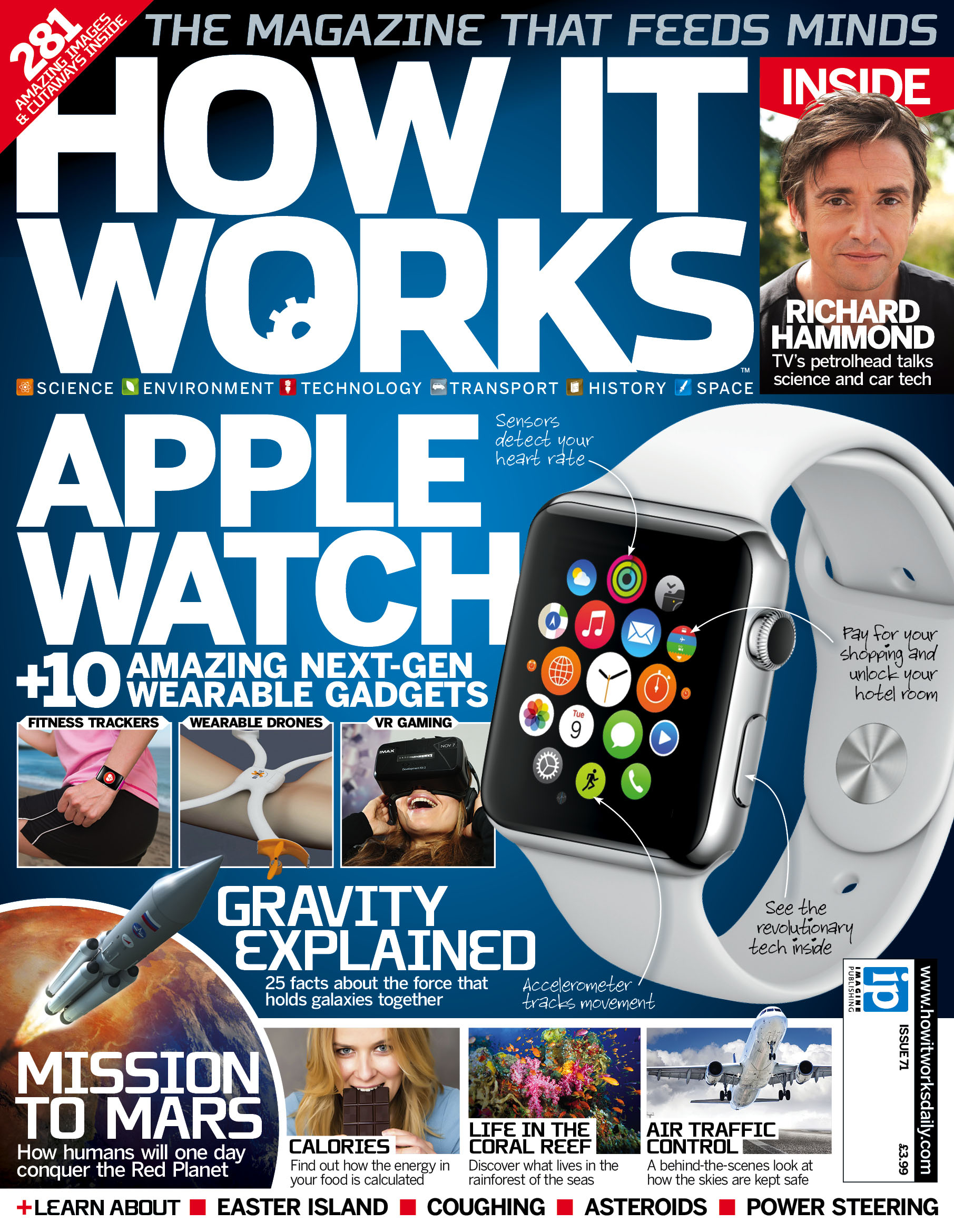 Apple Watch  other wearable tech explained in issue 71 of How It Works  How It Works