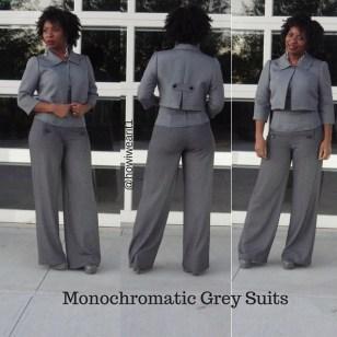 Monochromatic Grey Suit!