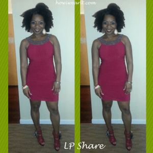 LP Share NYE Red Dress