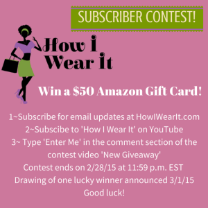 Subscriber Contest