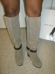 Bandolino Tall Suede Boots
