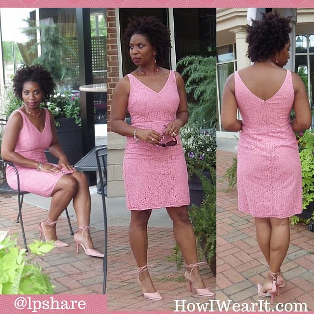 Ann Taylor Pink Dress How I Wear It