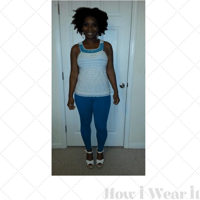 Womens Tank Tops Leggings Wedges on How I Wear It