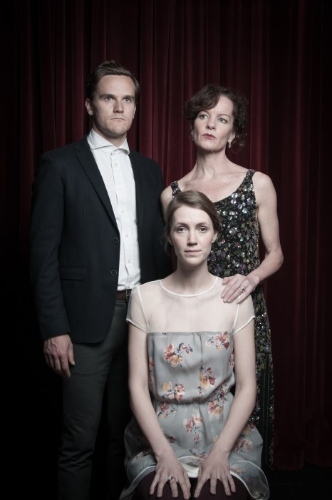 Photo of James Graham, Tracey Hoyt, Hannah Spear. Photo Credit: Connor Low