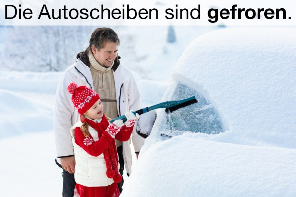 frieren (to freeze)