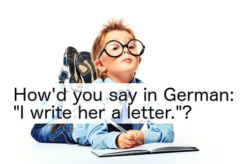 schreiben (to write)