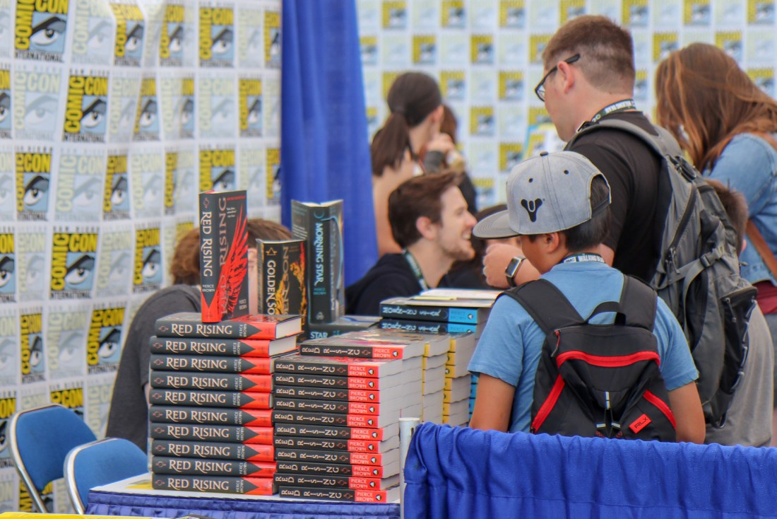Pierce Brown Comic-Con 2018