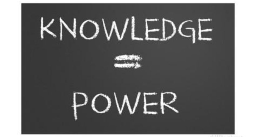 knowledge is power the