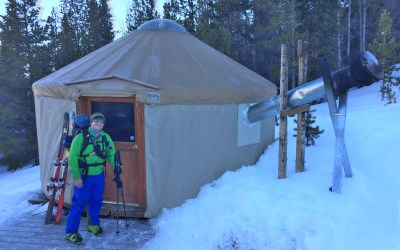 Uintah Yurt Backcountry Ski Tour