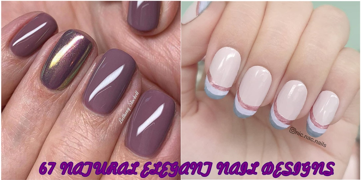 pics Elegant Neutral Nail Designs 67 natural elegant nail designs