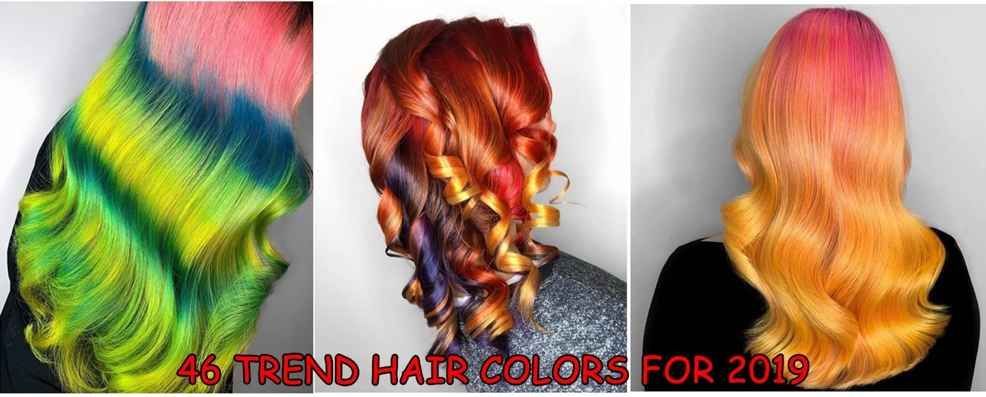 trend hair colors - 46 TREND HAIR COLORS FOR 2019