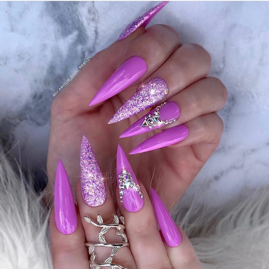 Stiletto Nails 08 - 20+ Amazing Stiletto Nails Ideas You Must To Try