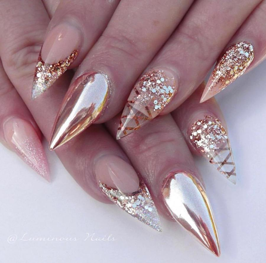 Stiletto Nails 19 - 20+ Amazing Stiletto Nails Ideas You Must To Try