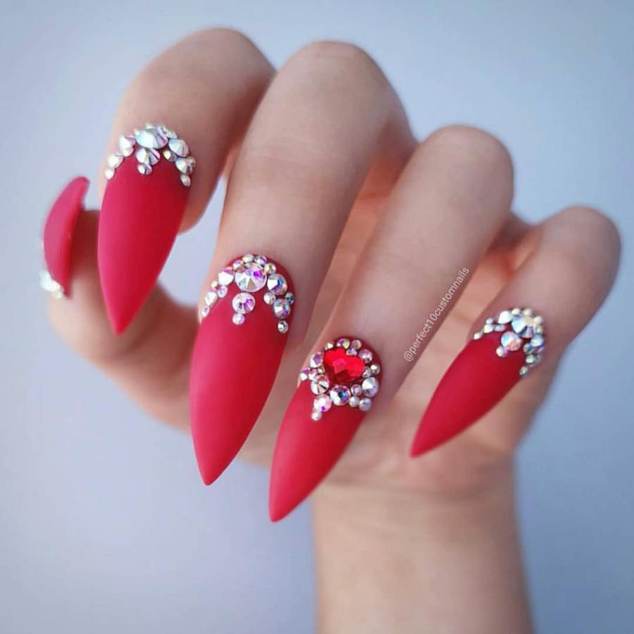Stiletto Nails 21 - 20+ Amazing Stiletto Nails Ideas You Must To Try