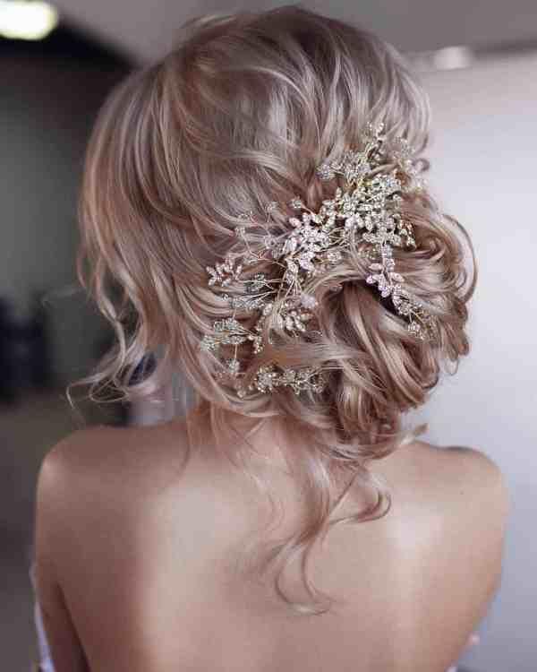 Updo Wedding Hairstyles 70 - 60+ Gorgeous Updo Wedding Hairstyles 2019