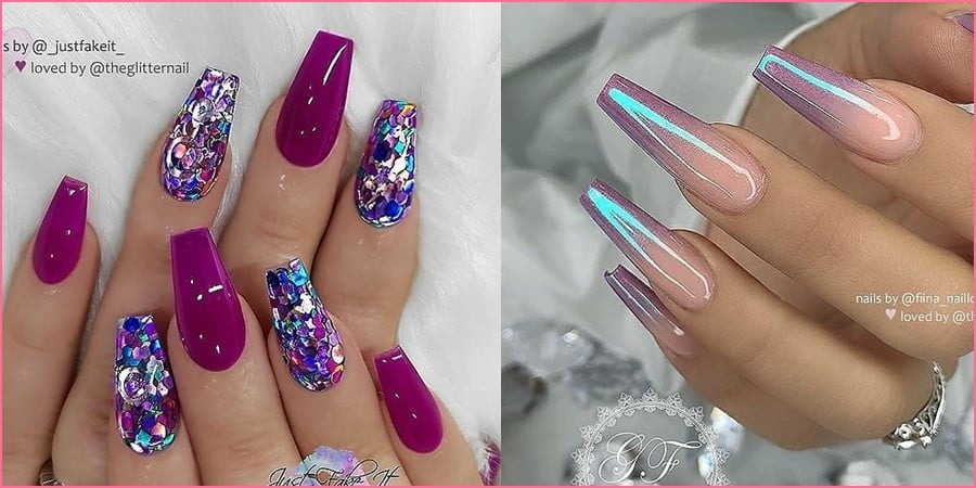 awesome coffin nails - 130+ Top Awesome Coffin Nails Design 2019 You Must Try