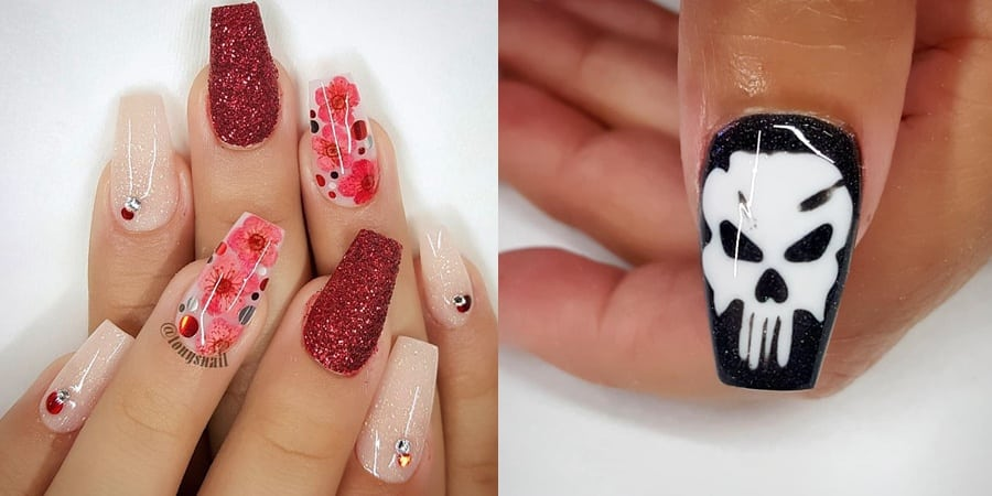 NAIL ART 10192019 - 80+ the Most Popular Nail Art 2019