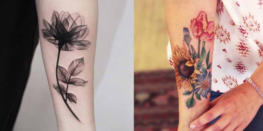 flower tattoo 20191025 - 90+ Stylish Design Ideas for Flower Tattoo