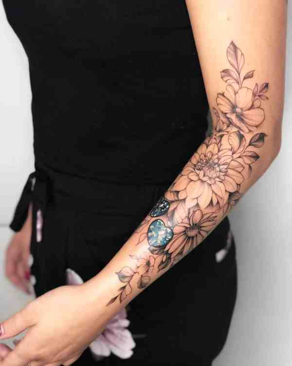 Women Tattoos 2019122909 - 60+ Perfect Women Tattoos to Inspire You