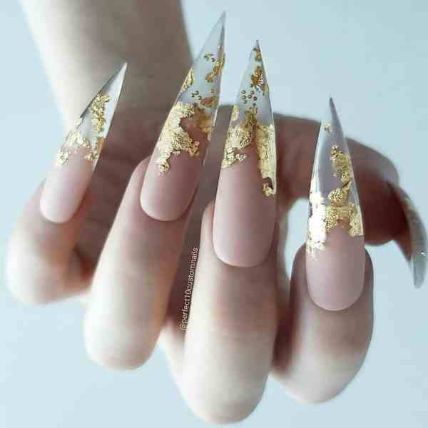 stiletto nails 2019121404 - 30+ Sharp Stiletto Nails Idea Very Cool
