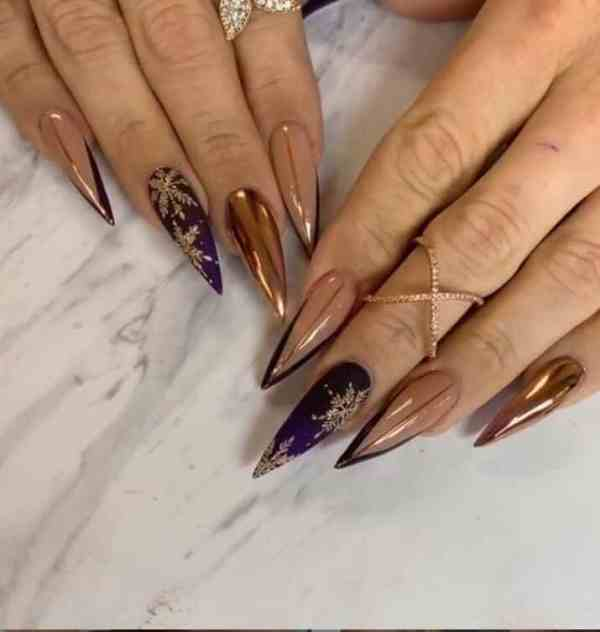 winter nails 2019122004 - 50+ Super Trendy Winter Nails to Look Excellent