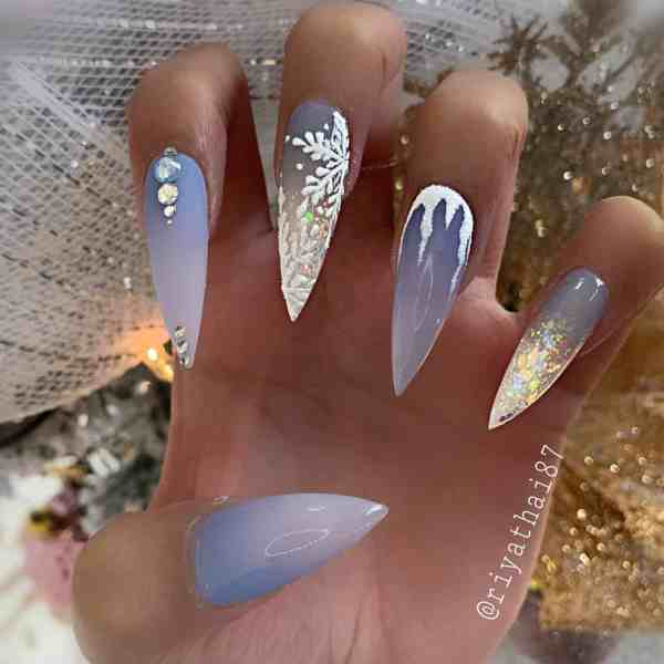 winter nails 2019122005 - 50+ Super Trendy Winter Nails to Look Excellent