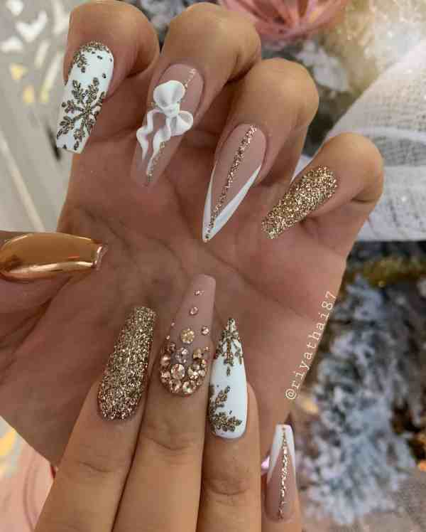 winter nails 2019122006 - 50+ Super Trendy Winter Nails to Look Excellent