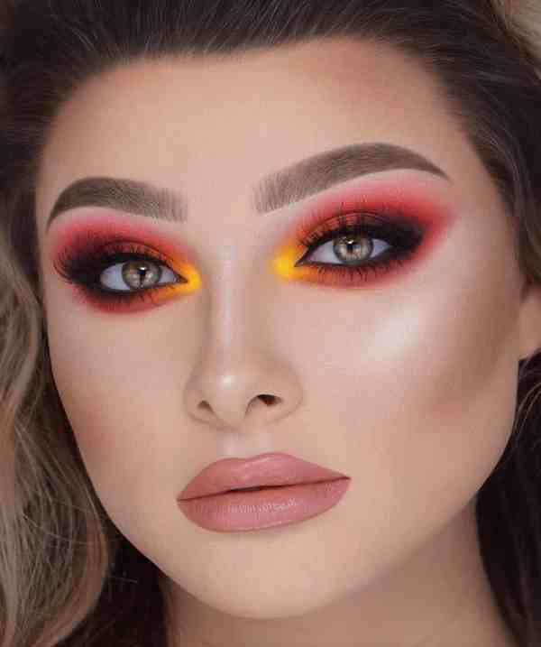 60+ Dramatic Makeup Looks Make You Glow in 2020 ...