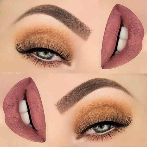 Eyes Makeup 2020013017 - 30+ Best Eyes Makeup and Lipstick Colors In Winter