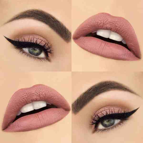 Eyes Makeup 2020013027 - 30+ Best Eyes Makeup and Lipstick Colors In Winter