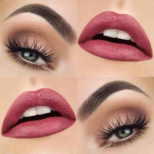 Eyes Makeup 2020013029 - 30+ Best Eyes Makeup and Lipstick Colors In Winter