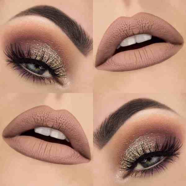 Eyes Makeup 2020013036 - 30+ Best Eyes Makeup and Lipstick Colors In Winter
