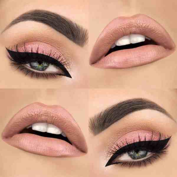 Eyes Makeup 2020013037 - 30+ Best Eyes Makeup and Lipstick Colors In Winter