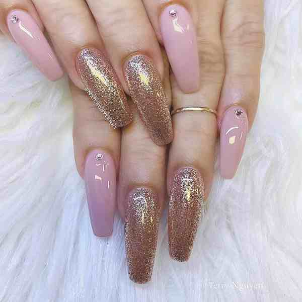 Winter Coffin Nail 2020011425 - 40+ Winter Coffin Nail Designs You Must Try