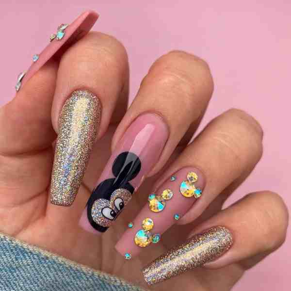 Winter Coffin Nail 2020011431 - 40+ Winter Coffin Nail Designs You Must Try