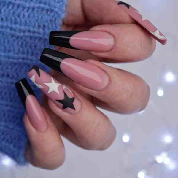 Winter Coffin Nail 2020011433 - 40+ Winter Coffin Nail Designs You Must Try