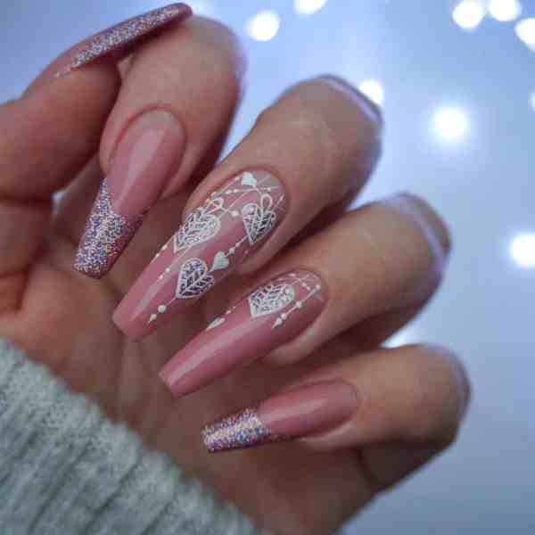 Winter Coffin Nail 2020011438 - 40+ Winter Coffin Nail Designs You Must Try