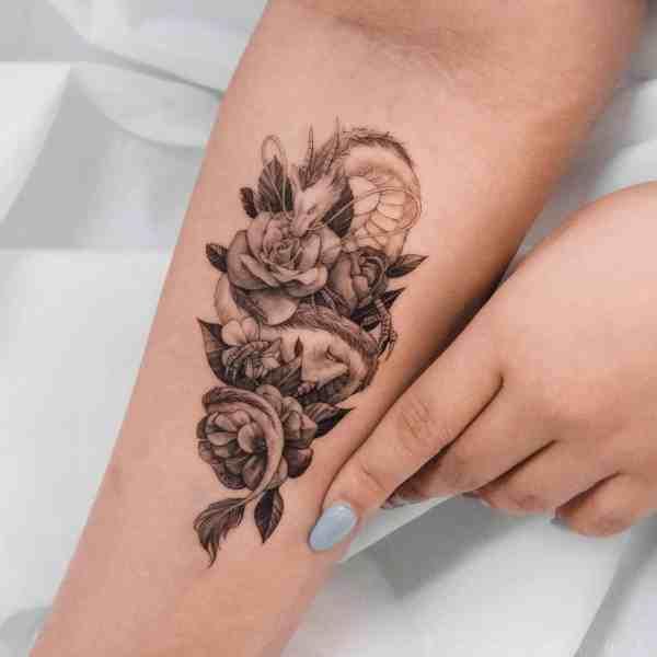 dragon tattoo 2020012701 - 30+ Dragon Tattoo Designs to Inspire You