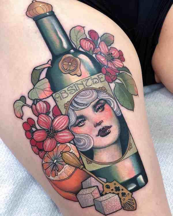elegant tattoo 2020012660 - 60+ Elegant Tattoo Ideas Will Inspire Women