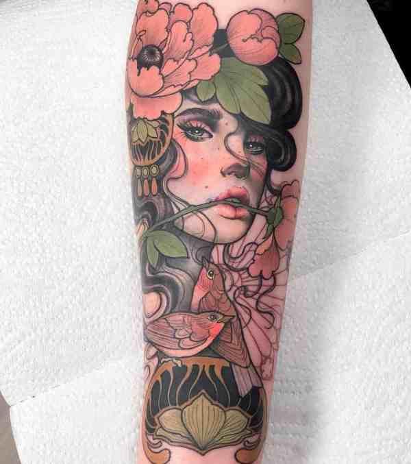elegant tattoo 2020012667 - 60+ Elegant Tattoo Ideas Will Inspire Women